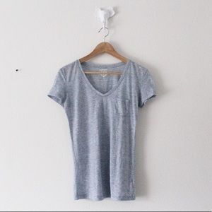 COMING 1/1/20! EXPRESS Basic T-Shirt Blue Top